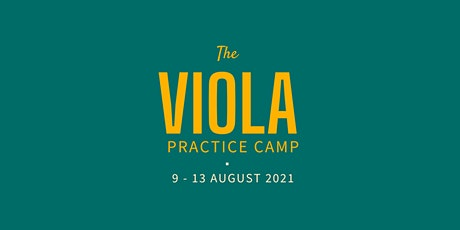 The Viola Practice Camp: specialist online music camp tickets