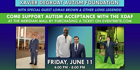 Support Autism Acceptance with XDAF w/ Special Guest Lomas Brown tickets