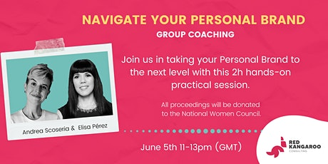 Navigate Your Personal Brand - Group coaching tickets