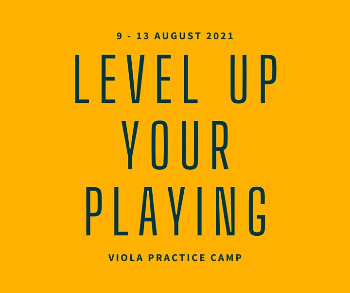 The Viola Practice Camp: specialist online music camp image