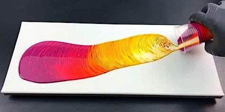 Diva Energy Art Acrylic Paint Pour  Workshop tickets