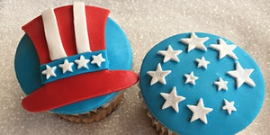 4th of July Cupcake Event