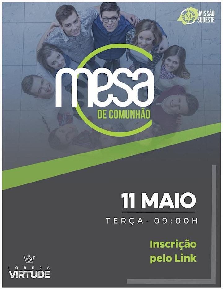 Imagem do evento MESA DE COMUNHÃO PARA PASTORES - VILA PRUDENTE / SP