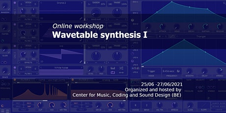 Online workshop Wavetable Synthesis I tickets