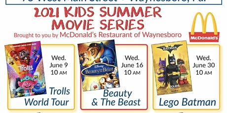 Beauty and The Beast - Kids Summer Series tickets