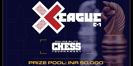 Online Blitz Chess tournament by XONG (Prize INR 50,000) Tickets
