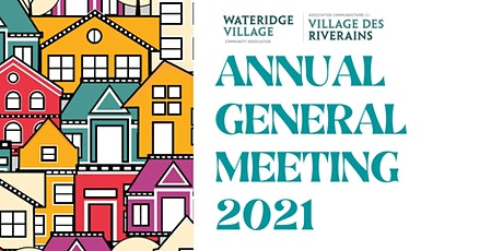 AGM - Wateridge Village Community Association tickets