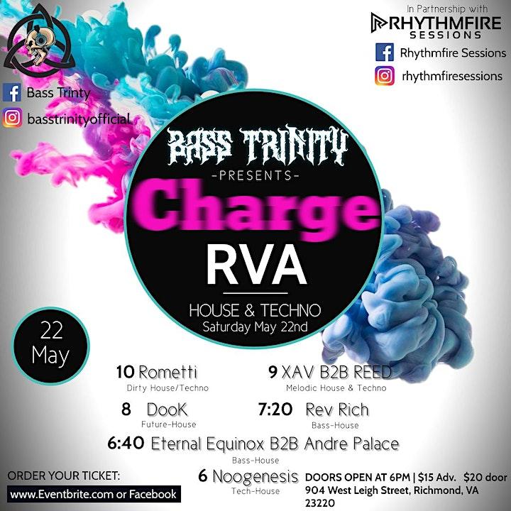 Bass Trinity Presents: Charge RVA image