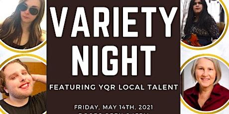 Variety Night (Virtual) tickets