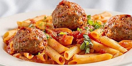 Club Italia - LOCKDOWN WEDNESDAY SPECIAL - Penne & Meatballs tickets