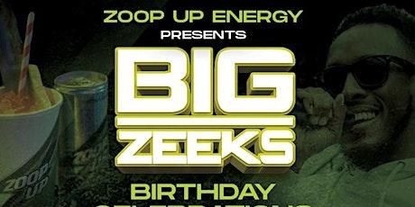 Zoop Up Energy Presents Big Zeeks Birthday tickets