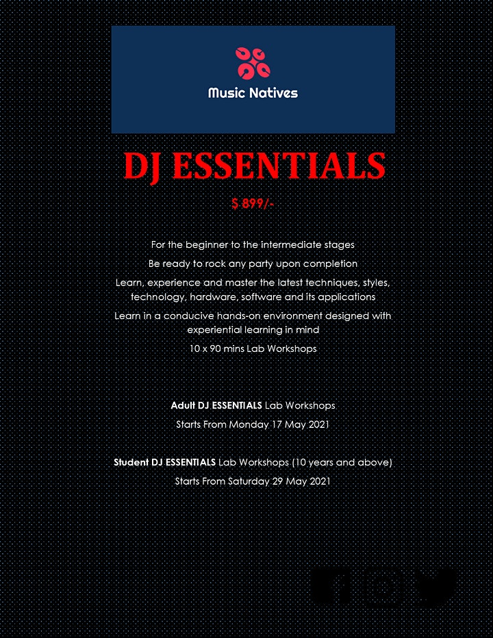 DJ Essentials Enrolment Event image