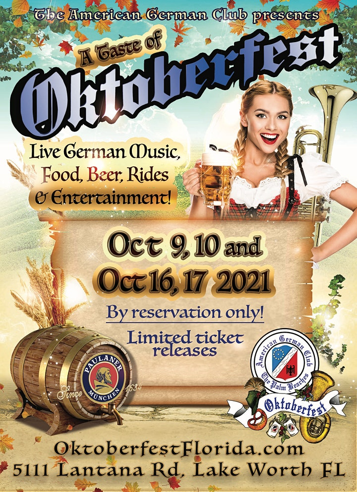 """A Taste of Oktoberfest"" featuring Brews, Food and Music image"