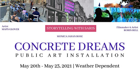 CONCRETE DREAMS Public Art Installation Day 2: Meet Artists & Projections tickets