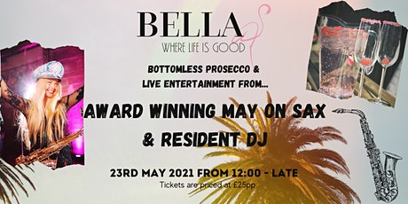 Bottomless Prosecco and Live Entertainment tickets