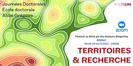 T & R - Atelier 3  - Financer sa thèse par des missions d'expertise billets