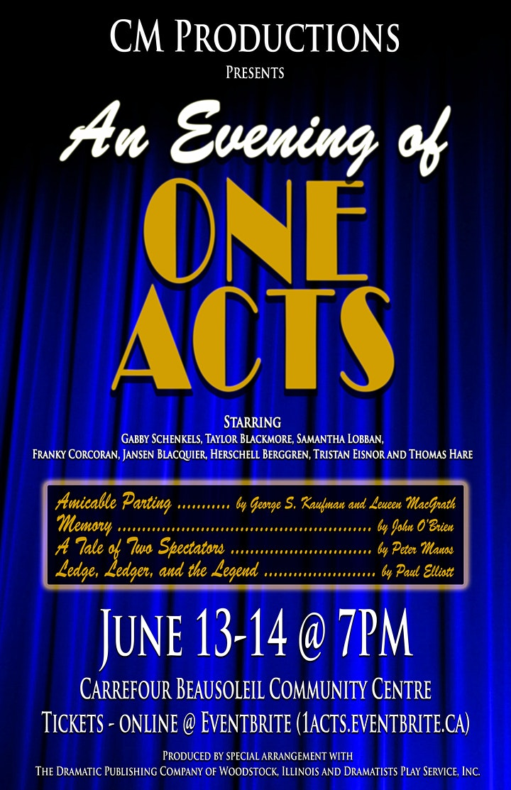 Evening of One Acts image