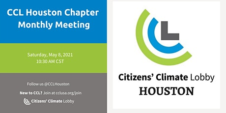 CCL Houston Chapter Monthly Meeting - May 8, 2021 tickets