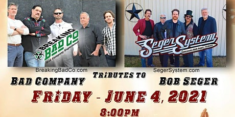 Seger System - Ultimate Bob Seger Tribute and Breaking Bad Co. Tribute Band tickets
