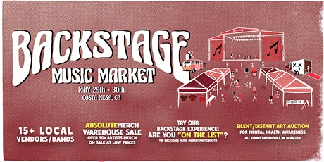 BACKSTAGE Music Market (OC) tickets