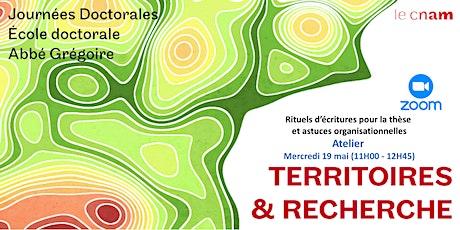 T & R - Atelier 3 - Rituels d'écritures pour la thèse et astuces billets