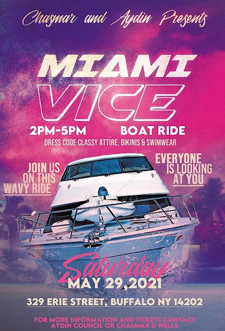 Miami Vice Boat Ride image