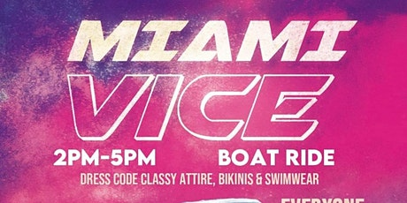 Miami Vice Boat Ride tickets