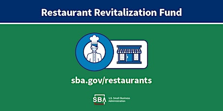 Informational Meeting on Restaurant Revitalization Fund (RRF) Grant tickets