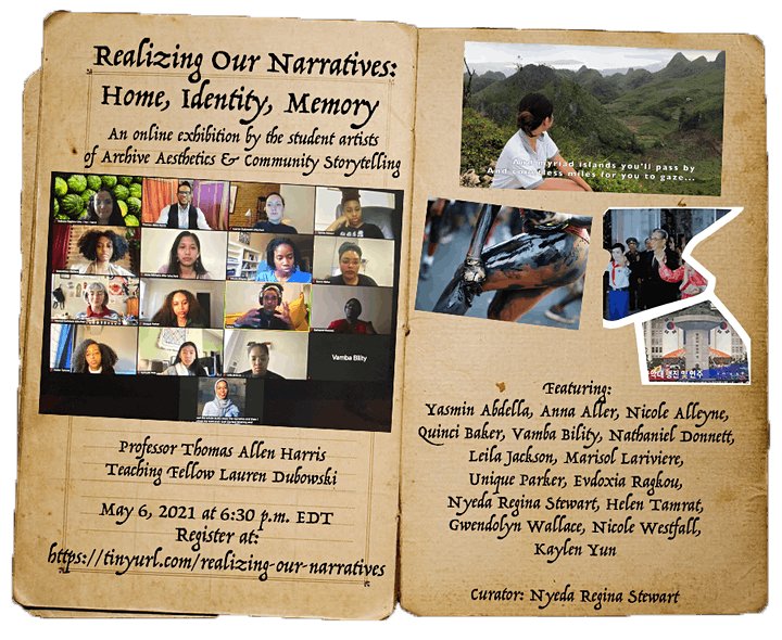 Realizing Our Narratives: Home, Identity, Memory image