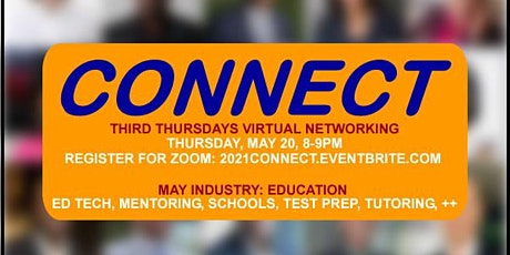 Connect: May| 3rd Thursdays Virtual Networking tickets