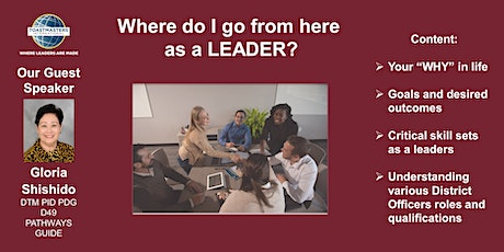Where do I go from here as a LEADER? tickets