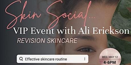 Skin Social tickets