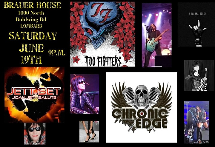 Chronic Edge with Joan Jett Set and Too Fighters image