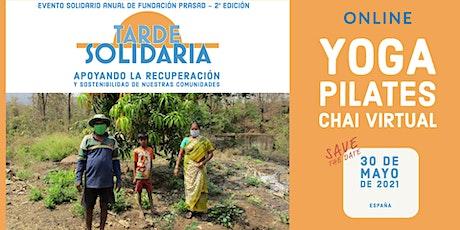 TARDE SOLIDARIA de Fundación PRASAD España boletos