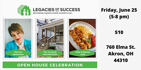 Open House Celebration tickets