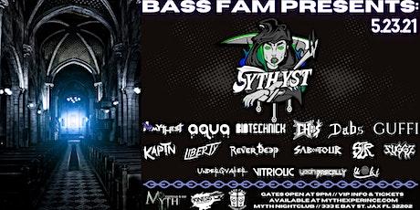 Bass Fam Presents: SYTHYST at Myth Nightclub | Sunday, 05.23.21 tickets