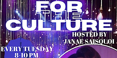 For The Culture tickets