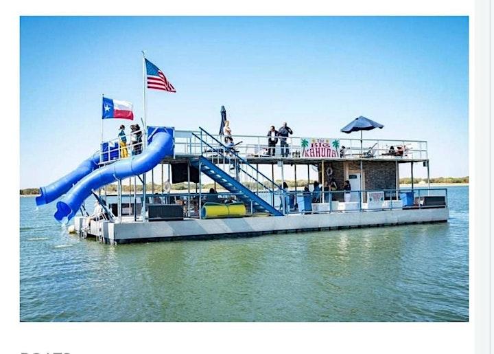 Lez Play Dallas Summer Girl BOAT Party @ Joe Pool  Lake21 and Up. image