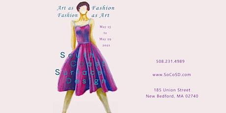 Tickets for Art as Fashion / Fashion as Art tickets