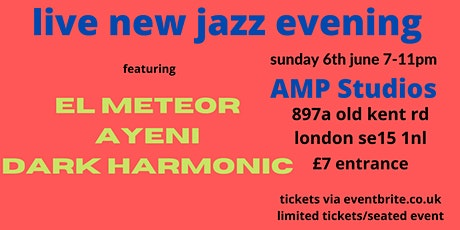 Three young acts from South London new jazz scene tickets