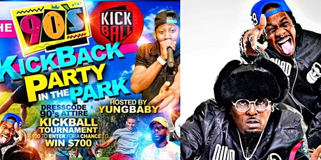 The 90's Kickback Kickball Party in the Park tickets