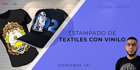 Estampado de textiles con vinilo | Nivel II entradas