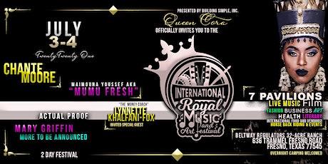 THE INTERNATIONAL ROYAL MUSIC & ART FESTIVAL tickets
