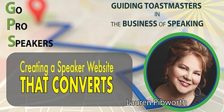 Create a Speaker's Website That Converts with Lauren Pibworth tickets