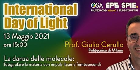La danza delle molecole: fotografare la materia con laser a femtosecondi biglietti