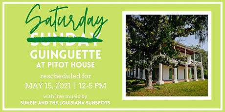 Guinguette at Pitot House - Rescheduled tickets
