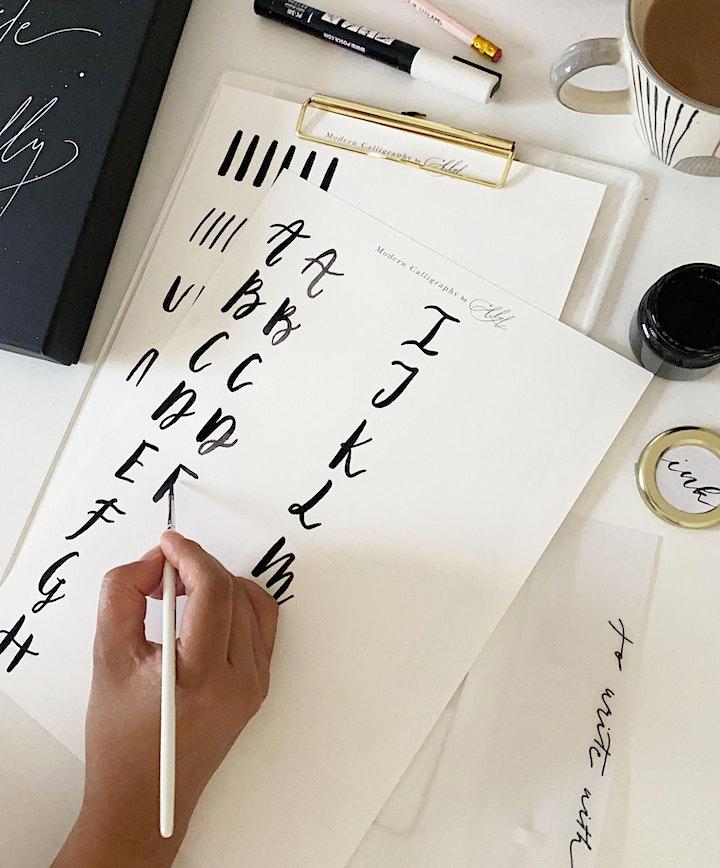 Brush Lettering  Workshop image