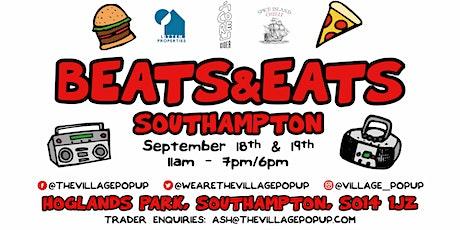 Beats & Eats Southampton tickets
