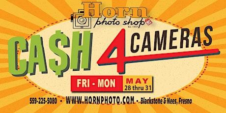 CASH 4 CAMERAS Four-Day Event tickets