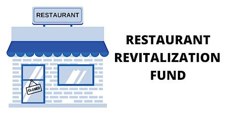 Seminario - Fondo de Revitalización de Restaurantes tickets
